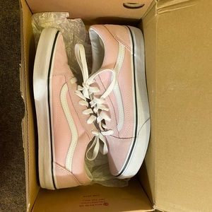Light Pink Old Skool Vans